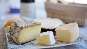 Una imagen de archivo de quesos.