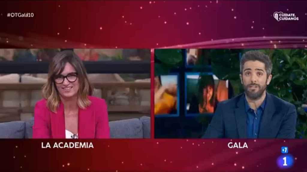 La directora ha aprovechado para bromear sobre el fichaje de Leal por Antena 3.