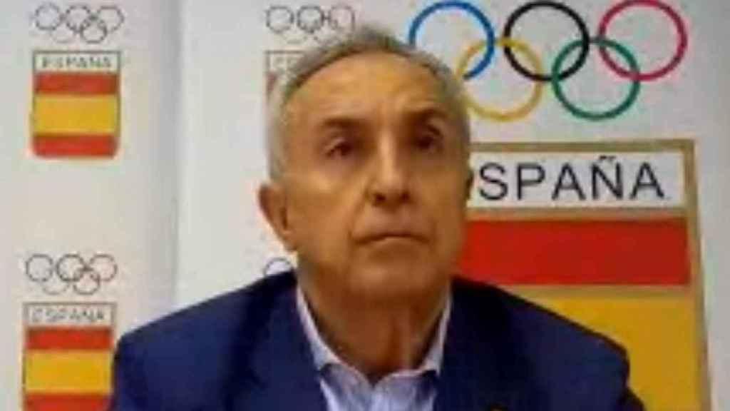Alejandro Blanco, durante la charla