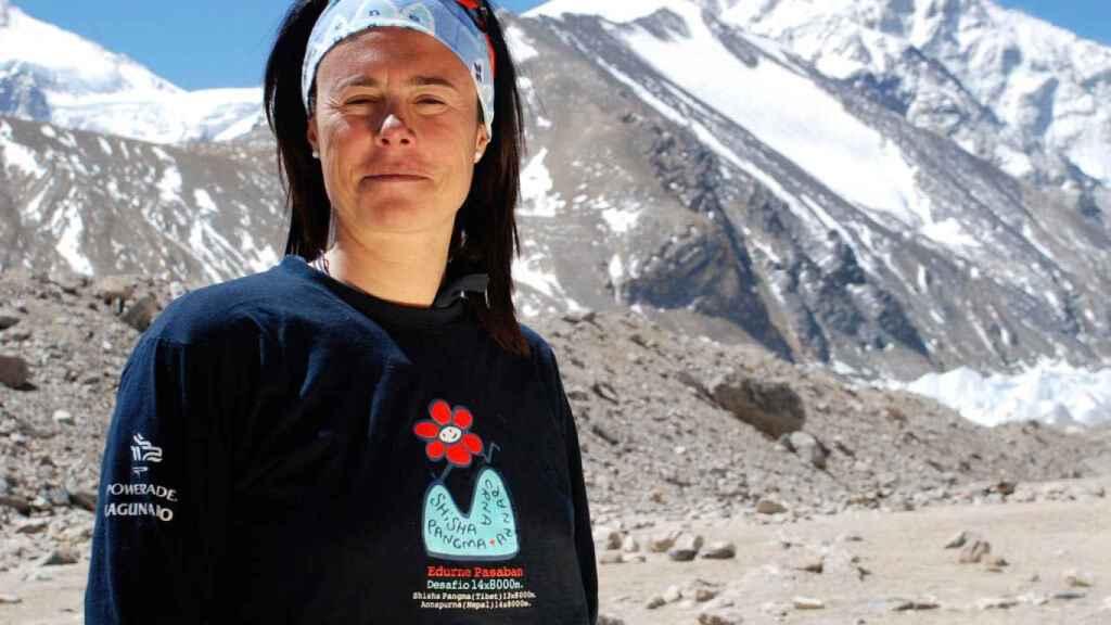 Edurne Pasaban, la primera mujer en la historia que culminó los catorce ochomiles
