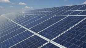 Imagen de archivo de una planta fotovoltaica