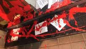 Ataque en la casa de Idoia Mendia, secretaria general de los socialistas vascos.