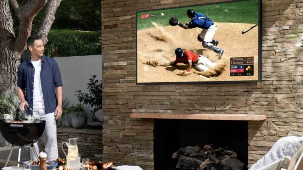 'The Terrace', el nuevo televisor de Samsung para exteriores.
