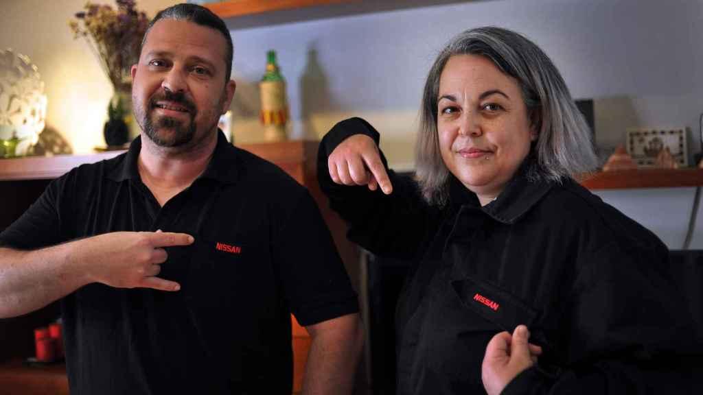 Alejandro y Susana se conocieron en una manifestación de los trabajadores de Nissan