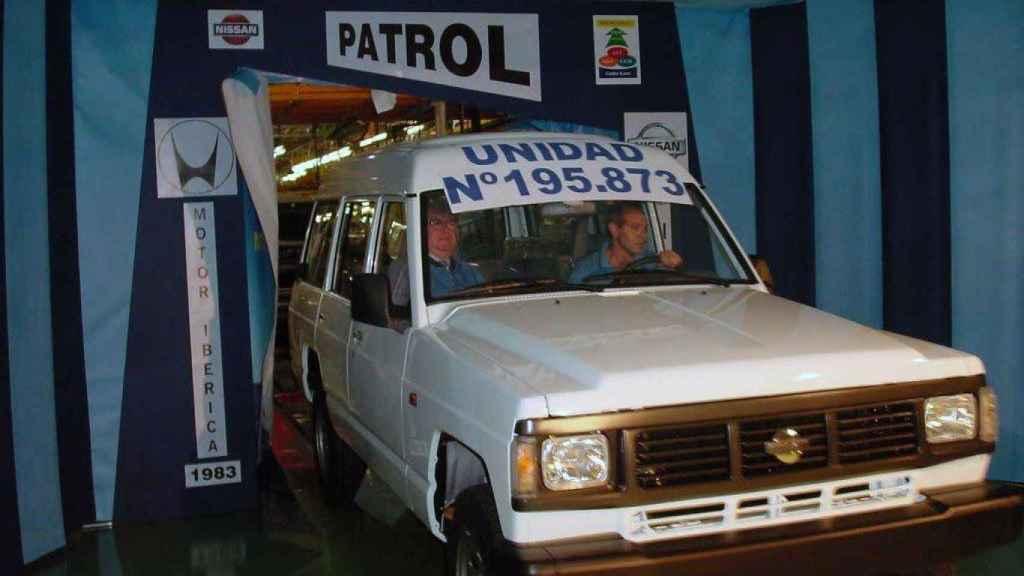 Hitos históricos en la fabricación del Patrol