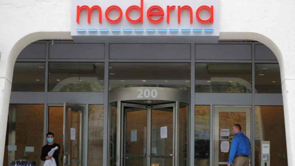 La sede de Moderna.