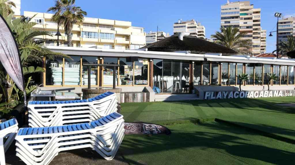 Hoteles en la playa Playamar en Torremolinos.