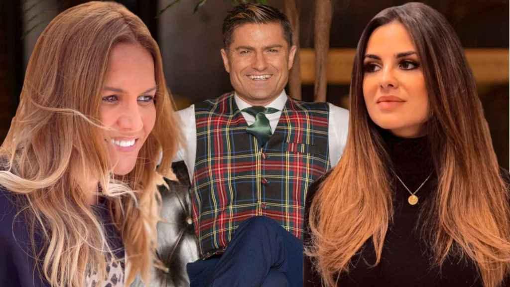 Marta López, Alfonso Merlos y Alexia Rivas, protagonistas principales del 'Merlos Place'.