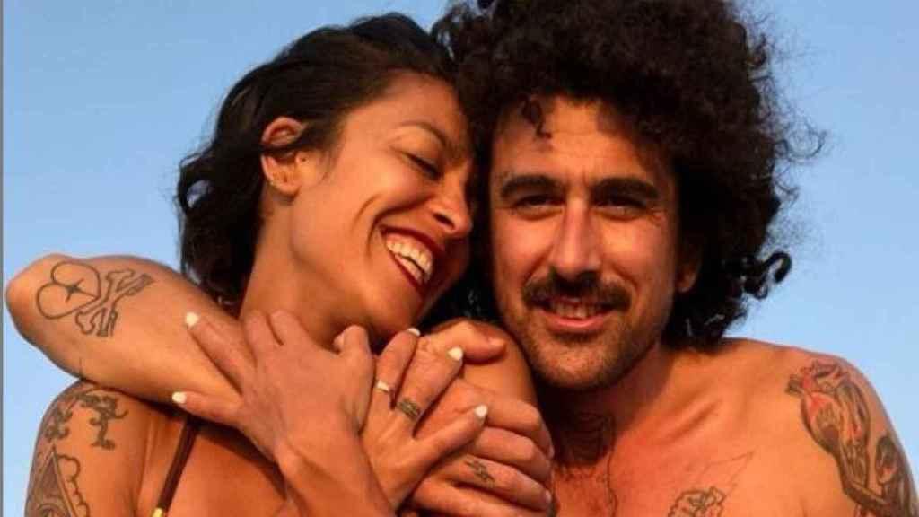 Lorena Castell y Eduardo en una imagen de sus redes sociales.