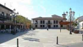 Plaza de la Constitución de El Casar (Guadalajara)