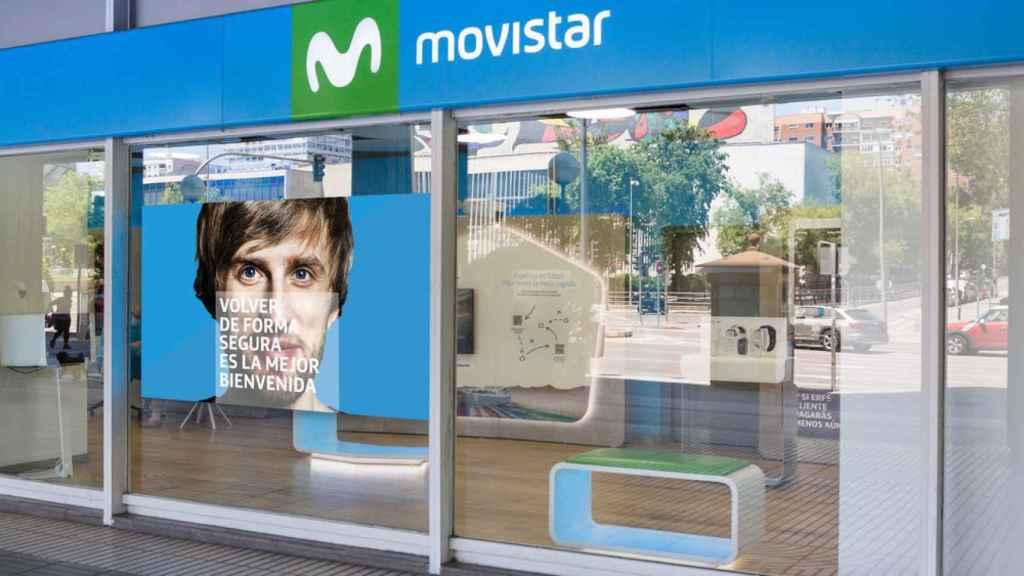 Tienda de Movistar de General Perón.