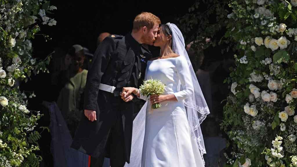 La boda fue de cuento de hadas en el castillo de Windsor.