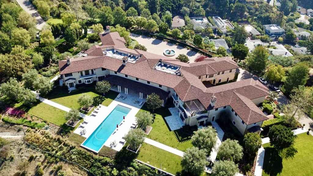 Mansión en la que viven Harry y Meghan en Los Ángeles.