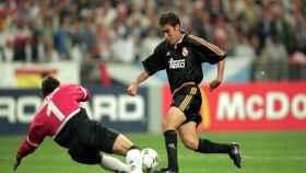 Raúl González en la final de la Champions League del año 2000.