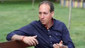 Daniel Arias, presidente provincial de Vox Toledo (Ó. HUERTAS)