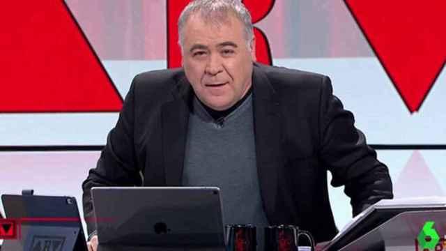 FOTO: Antonio García Ferreras (Atresmedia)