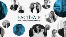 Imagen promocional del lanzamiento de #EActíVate.