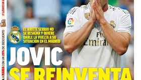 La portada del diario MARCA (26/05/2020)