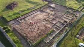 El campamento romano de Ciadella, en Sobrado dos Monxes (A Coruña)