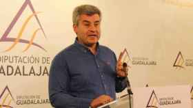 El portavoz del PP en la Diputación de Guadalajara, Alfonso Esteban