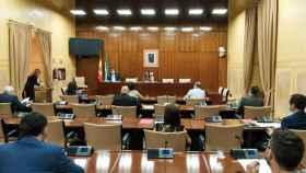 Sesión de constitución de la Comisión andaluza para la recuperación ante el Covid-19.