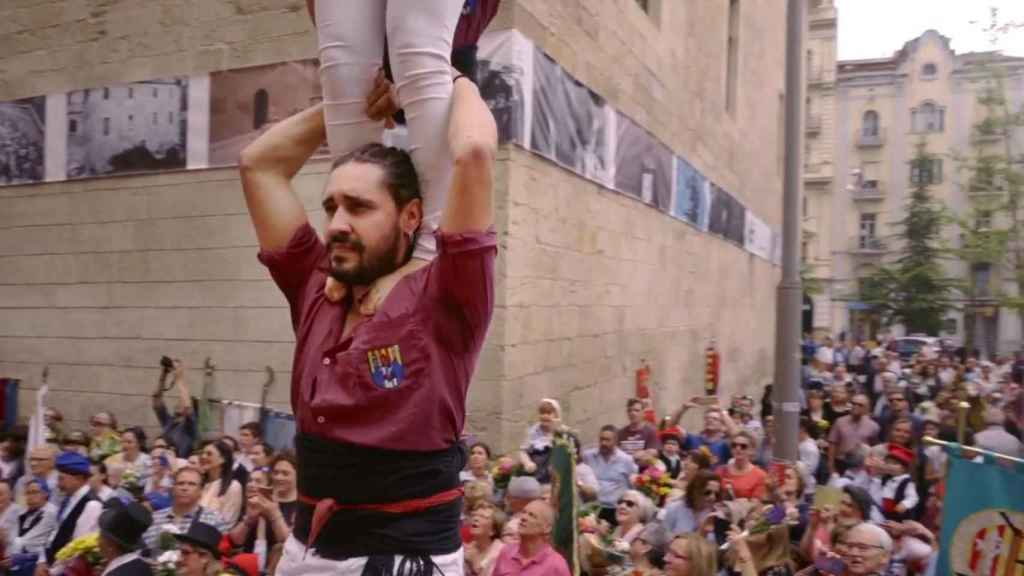 Fotograma del vídeo lanzado por la Generalitat de Cataluña.