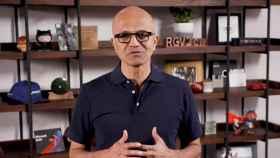 Satya Nadella, durante su intervención en el Microsoft Build 2020