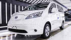 Uno de los modelos eléctricos de NIssan.