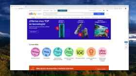 La página de eBay España