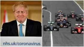 Boris Johnson y la Fórmula 1