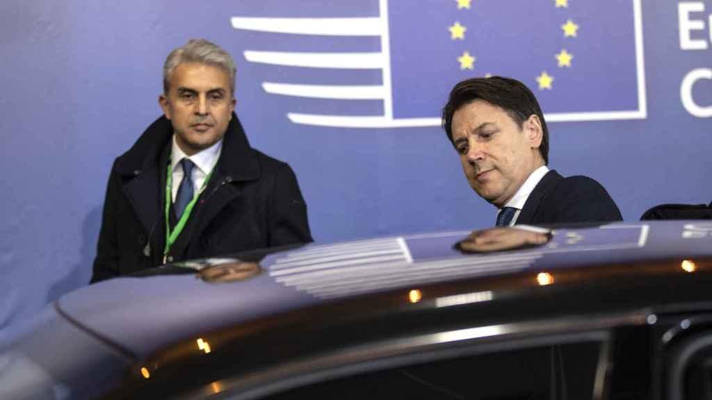 El primer ministro italiano, Giuseppe Conte, en una cumbre de la UE