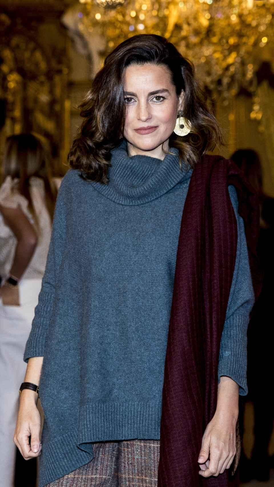 María Palacios durante un desfile de modas en enero del año pasado.