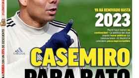 La portada del diario MARCA (27/05/2020)