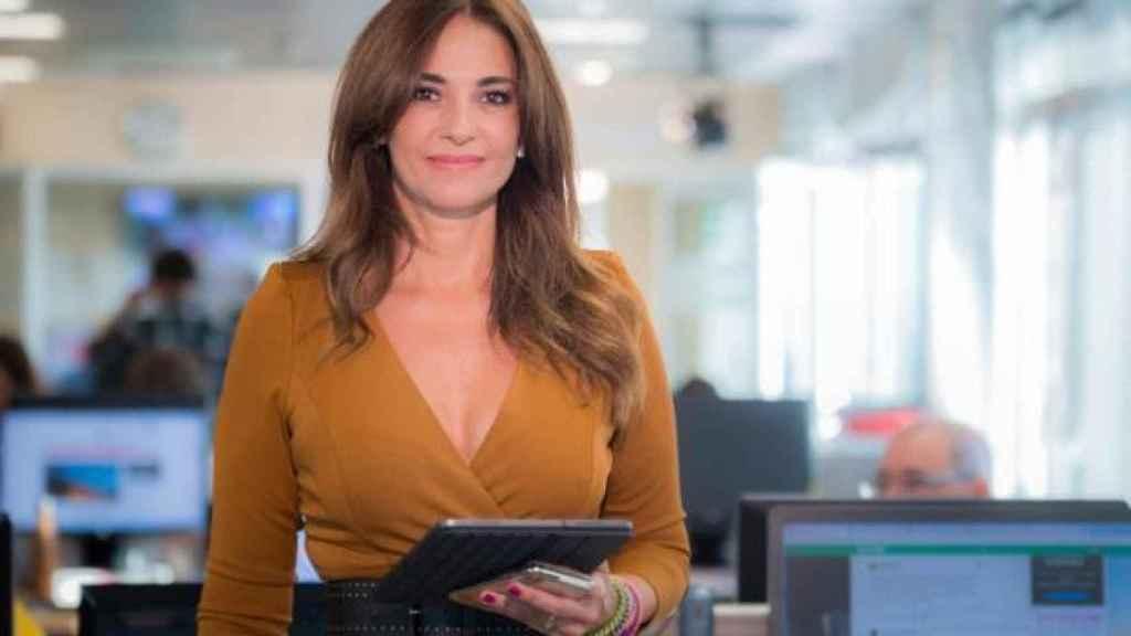 Mariló Montero en una imagen reciente durante su trabajo en Canal Sur.