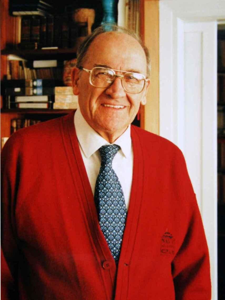 El historiador Miguel Artola, en una foto de archivo.