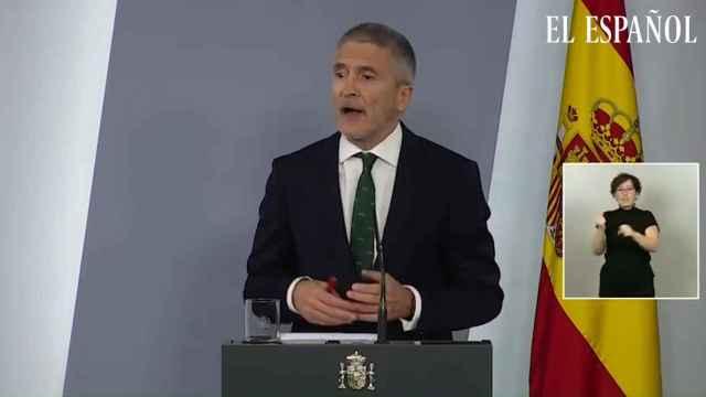 Marlaska justifica la destitución de Pérez de los Cobos.
