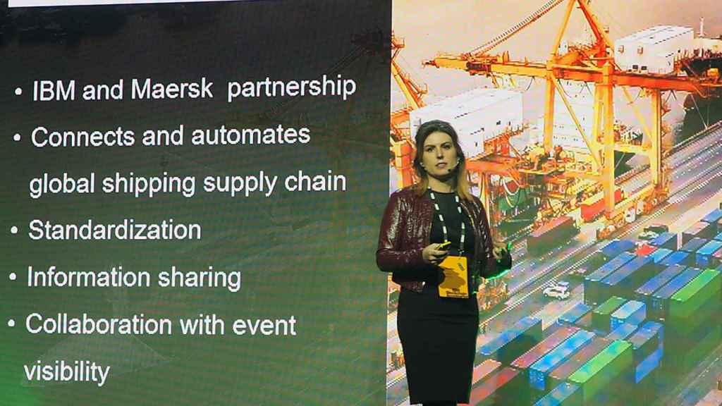 Jules Miller, cofundadora de la aceleradora IBM Blockchain.