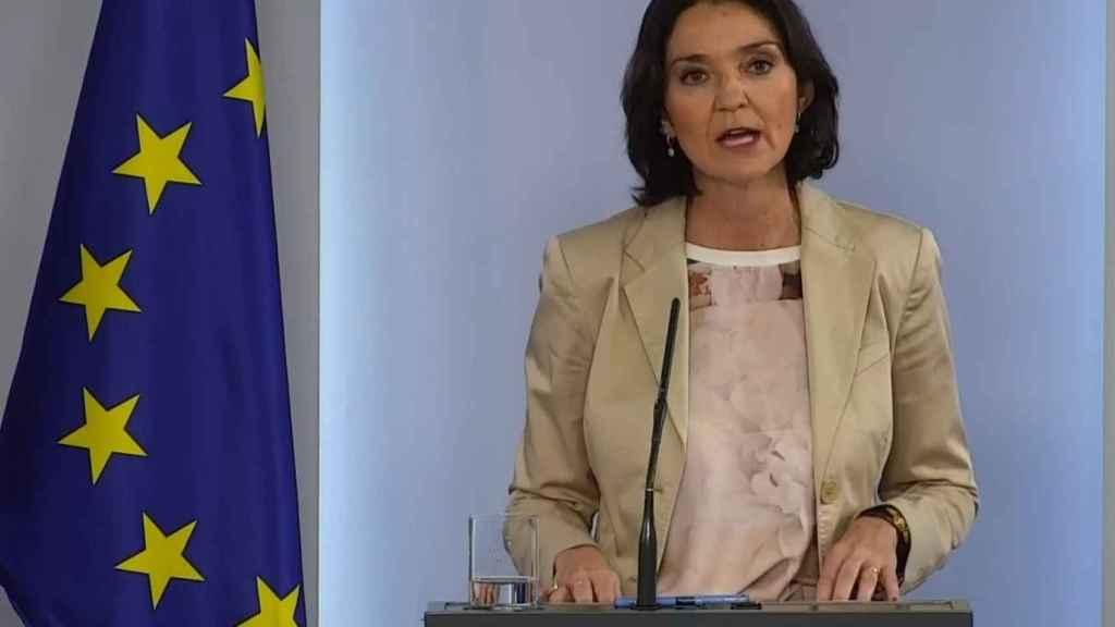 La ministra de Comercio, Industria y Turismo Reyes Maroto.