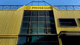 Fachada exterior de las oficinas de Prosegur.