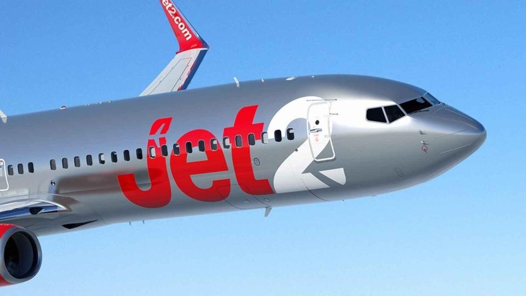 Un avión de la compañía Jet2 en una imagen de archivo.