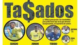 La portada del diario Mundo Deportivo (27/05/2020)