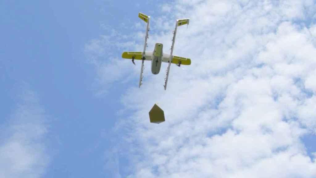 Entrega mediante dron de Wing