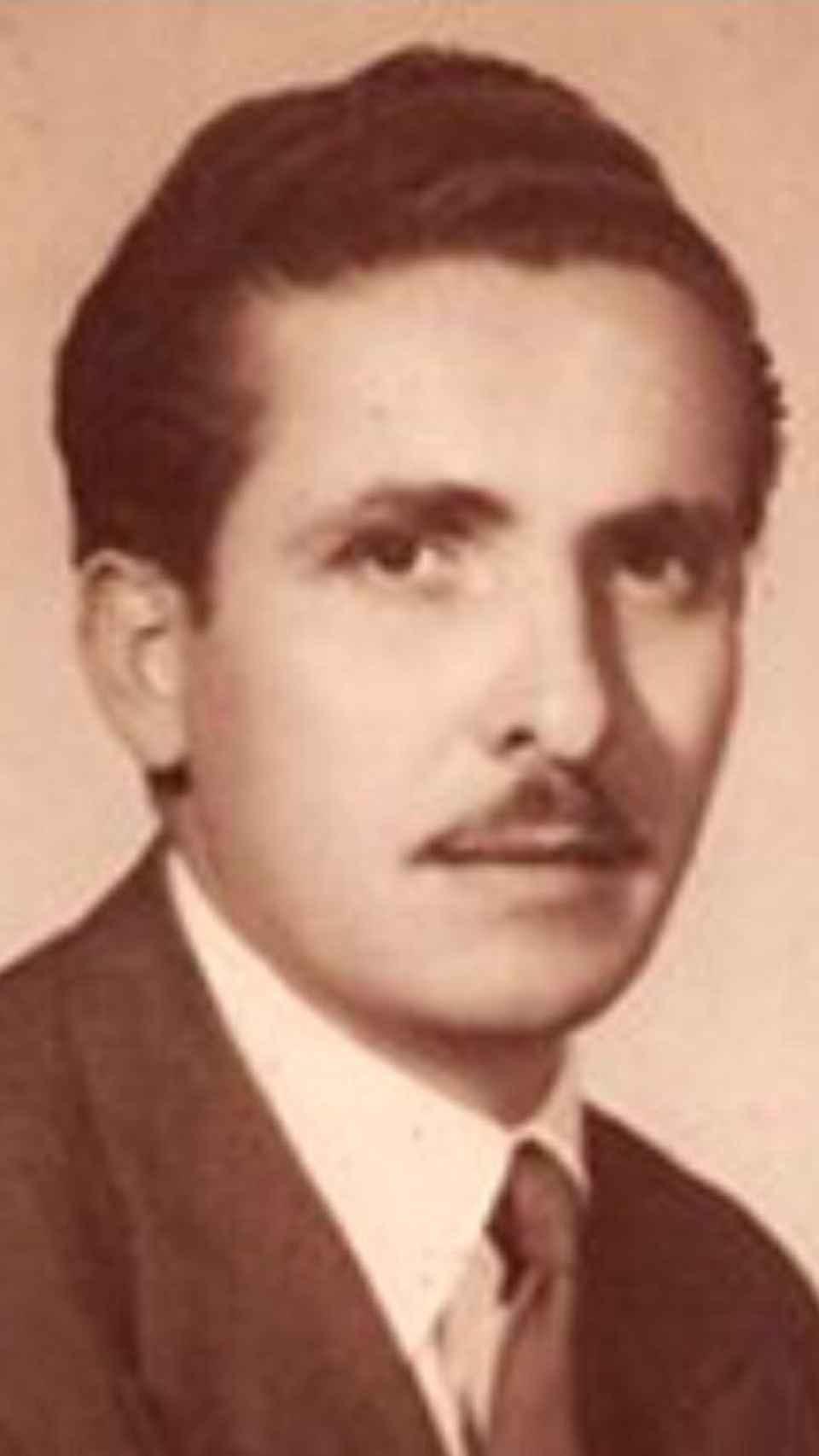 Manuel Iglesias, abuelo paterno del líder de Unidas Podemos, Pablo Iglesias.