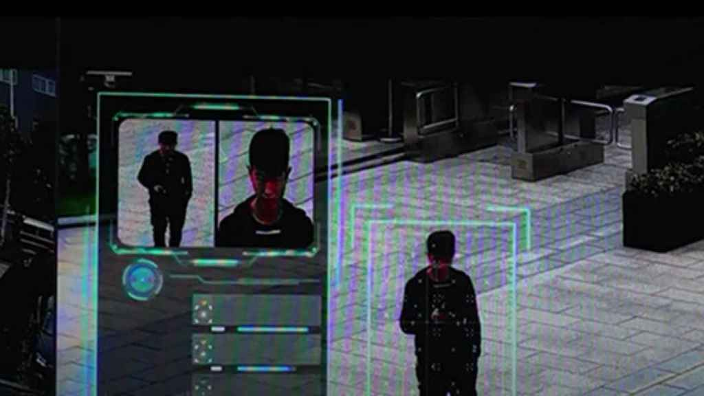 Sistema de vigilancia en China.