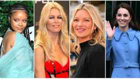 Algunos de los nombres que aparecen en la Biblia de la moda: Rihanna, Claudia Schiffer, Kate Moss y Kate Middleton.