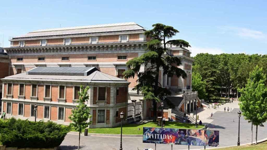 El edificio del Museo del Prado, fotografiado esta semana.