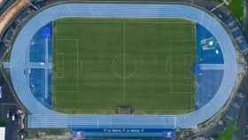 El Olímpico Camilo Cano de La Nucía, donde jugará el Levante hasta el final de la temporada
