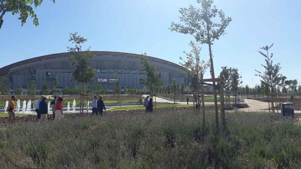 Entorno de Wanda Metropolitano.
