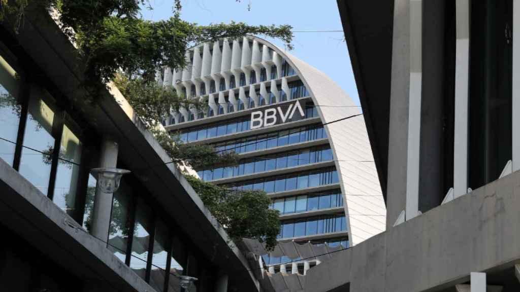 La sede del BBVA, en Madrid.
