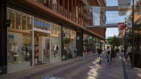 El centro comercial Torre Sevilla durante el primer día de apertura al inicio de la fase 2.